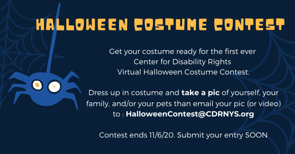 CDR Halloween costume contest